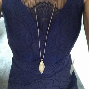 Dresses - Gorgeous lace high low dress